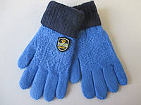 Трикотажные перчатки для мальчиков.
