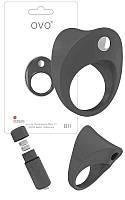 Эксклюзивное эрекционное кольцо OVO Ring B11 2 цвета на выбор Бесплатная доставка