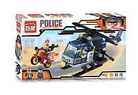 Конструктор Brick Enlighten Полицейская серия 1905 (Погоня на полицейском вертолете), фото 1