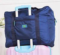 Дорожная сумка для путешествия синяя