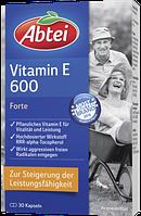 Abtei Vitamin E 600 Forte Kapseln - Витамин Е 600 Форте в капсулах, 30 шт.