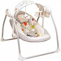 Детское кресло качалка Alexis Babymix серый