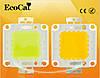 COB модуль сверхяркий мощный светодиодный чип  LED холодный белый Epistar для прожекторов