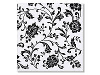 Салфетка для декупажа Ti-Flair Орнамент цветы, размер в развёрнутом виде 33x33 см