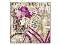 Салфетка для декупажа Ti-Flair Письмо из Парижа, размер в развёрнутом виде 33x33 см