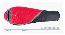 Лёгкий спальный мешок NatureHike Lite 300 NH15S001-S, фото 2