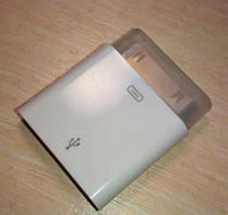 Apple iPhone Mini-Micro USB переходник для iPhone 4, 4S, 3G/S