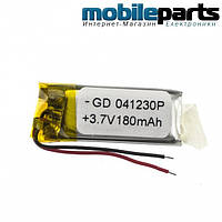 Универсальный внутренний аккумулятор 04*12*30 (300MAH 3.7V)
