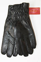 Женские перчатки с резинкой на запьясти
