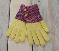 Перчатки рукавички на девочку качество