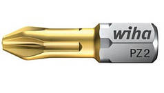Набор бит Wiha РZ3х25 TiN 50 шт с титановым покрытием W08064
