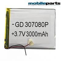 Универсальный внутренний аккумулятор 03x70x80 (3000MAH 3,7V)