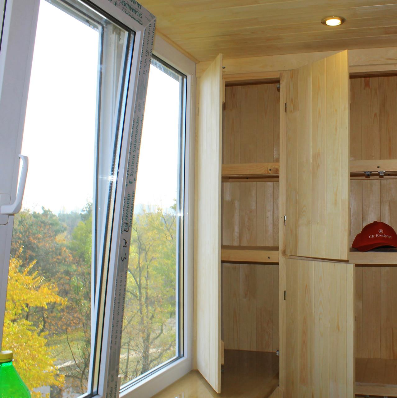 Балкон под ключ в панельной хрущевке - этапы работ от компан.