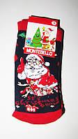Новогодние носки детские  зимние махровые внутри хлопок турция  0-1год(1)