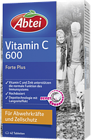 Abtei Vitamin C 600 Forte Plus Tabletten - Витамин С 600 Форте Плюс, 42 табл.