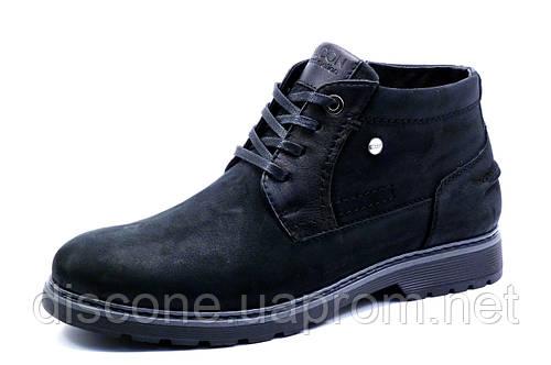 Зимние ботинки Falcon Eterna Motion, мужские, на меху, натуральная кожа, черные