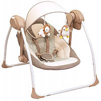 Детское кресло качалка Alexis Babymix бежевый
