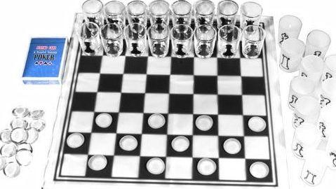 Набор для трех игр 3 в 1: шахматы, шашки, карты Duke CDJ03-3