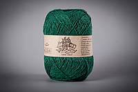 Пряжа Вивчари Semi-wool (Напівшерсть) 50/50 Зелений