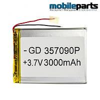 Универсальный внутренний аккумулятор 35x70x90 (3500MAH 3,7V)