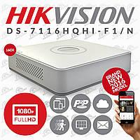 Turbo HD видеорегистратор DS-7116HQHI-F1/N