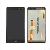 Дисплей (LCD) HTC 600 Desire с сенсором черный