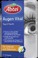 Abtei Augen Vital Tag & Nacht, Kapseln - Витамины для глаз День-Ночь, капсулы, 30 шт.