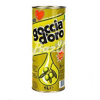 Оливковое масло Goccia doro 1 л. Италия