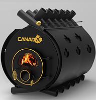 Дровяная печь «Canada» classic «О5» 41 кВт со стеклом и кожухом