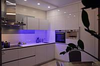 Угловая встроенная Кухня в стиле минимализм, фото 1