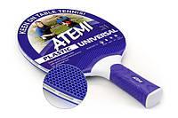 Ракетка н/т Atemi Plastic Universal blue/red