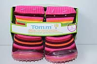 Пинетки-носочки Tom.m для девочки р. 4(12 мес),6(18мес.),8(24мес.)