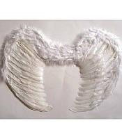 Карнавальные крылья,Ангела белые ,MK 1408 KRK-0007