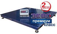 Весы платформенные Зевс ВПЕ-2000-4(H1010) Премиум