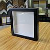 Рамка для 3D 25х25 см черная