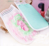 Мочалка-рукавица массажная, Кесе - варежка для пиллинга тела