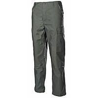 Штаны, брюки тактические, усиленые, олива, BDU (от компании МFH)