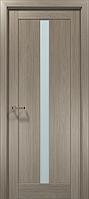 "Двери межкомнатные Папа Карло ""Optima-01"" клен серый"