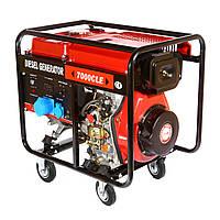 Генератор дизельный WEIMA WM7000CLE (7 кВт, 1фаза, электростартер)