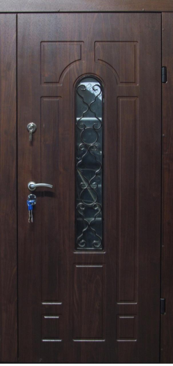 Двері вхідні броньовані з ковкою безкоштовна доставка 96х205