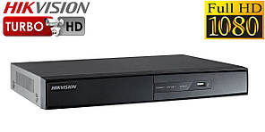 4-канальний Turbo HD відеореєстратор DS-7204HQHI-F1/N 4 аудіоканалу