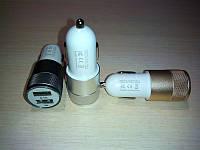 Зарядное устройство от прикуривателя с двумя портами USB