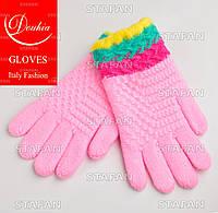 Перчатки с начёсом на девочку Douhia DP07-7-R