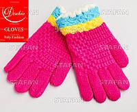 Перчатки с начёсом на девочку Douhia DP07-8-R