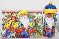 "Новогодняя упаковка ""Дед Мороз Украина"" на 250 гр (картон, пластмасса)"