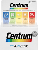 Centrum A bis Zink, 30 St - Комплекс витаминов, минералов и микроэлементов от А до Цинка, 30 шт.