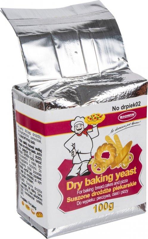Сушенные пекарские дрожжи Biowin, 100 г