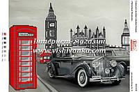 """Схема для вышивки бисером """"Прогулянка Лондоном"""""""