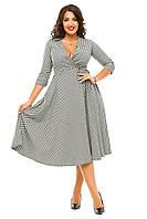 Платье р-ры 48-54 код 1013