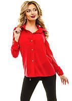 Женская Рубашка креп-шифон 6 цветов